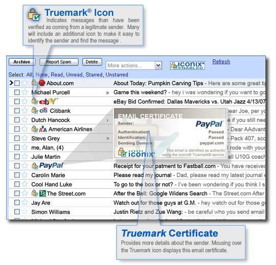 Vorschau Iconix eMail ID - Bild 1