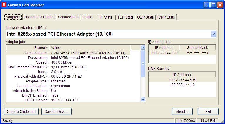 Vorschau Karens LAN Monitor - Bild 1