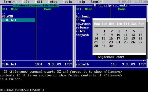 Vorschau Doszip Commander - Bild 1