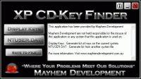 Vorschau XP CD-Key Finder - Bild 1
