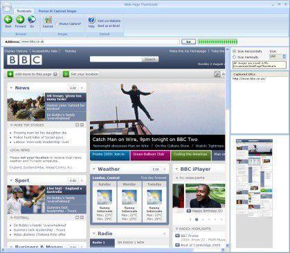 Vorschau Web Page Thumbnails - Bild 1