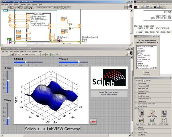 Vorschau Scilab - Bild 1