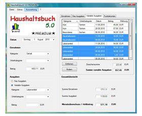 Vorschau Haushaltsbuch NetBook - Bild 1