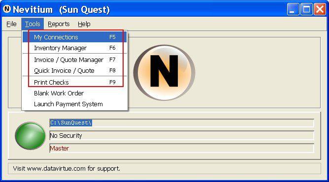 Vorschau Nevitium Business Manager - Bild 1