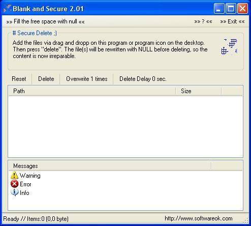Vorschau Blank And Secure - Bild 1