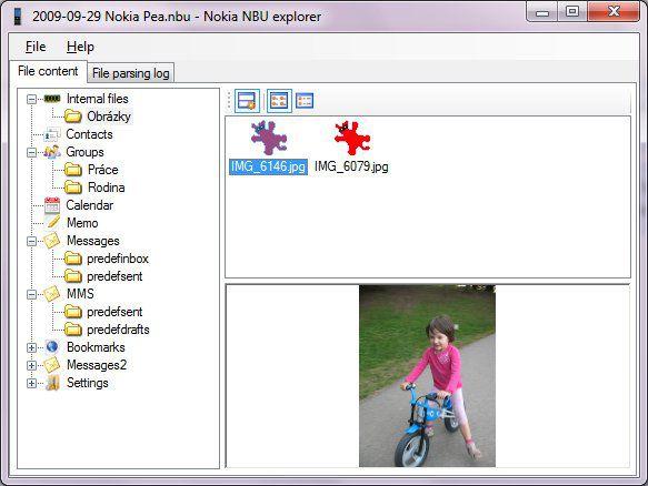 Vorschau Nokia NbuExplorer - Bild 1