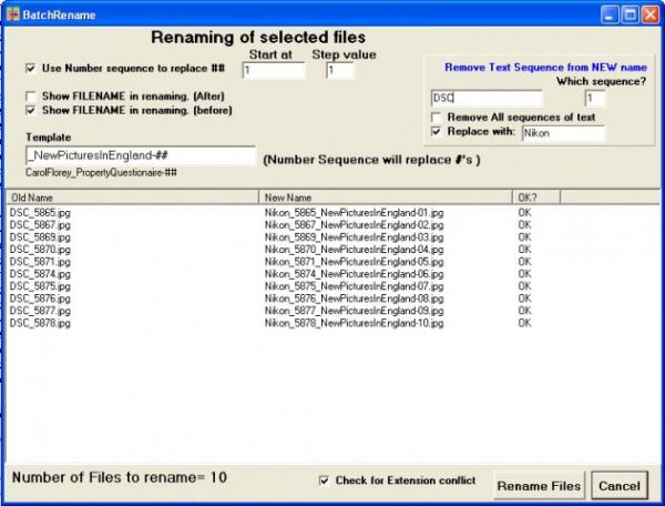 Vorschau FileOrganiser - Bild 1