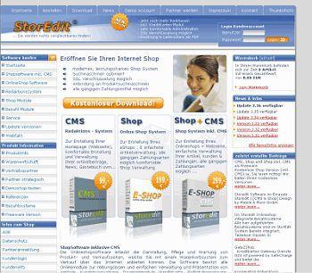 Vorschau Online Shop Software Storedit - Bild 1
