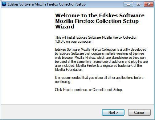 Vorschau Mozilla Firefox Collection - Bild 1