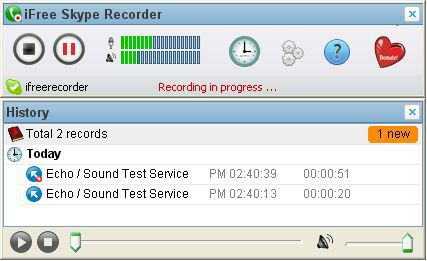 Vorschau iFree Skype Recorder - Bild 1