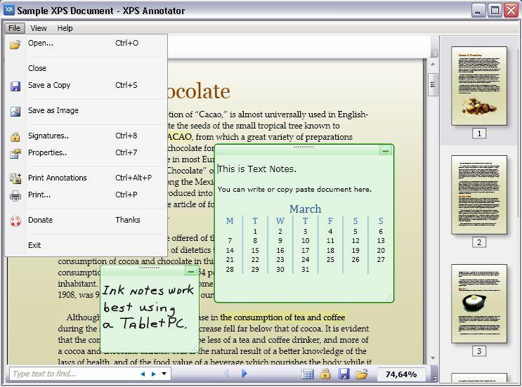 Vorschau XPS Annotator - Bild 1