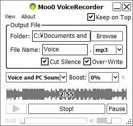 Vorschau Moo0 VoiceRecorder - Bild 1