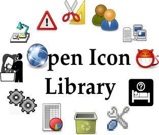 Vorschau Open Icon Library - Bild 1