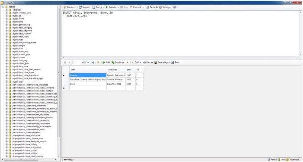 Vorschau FreeSQL - Bild 1