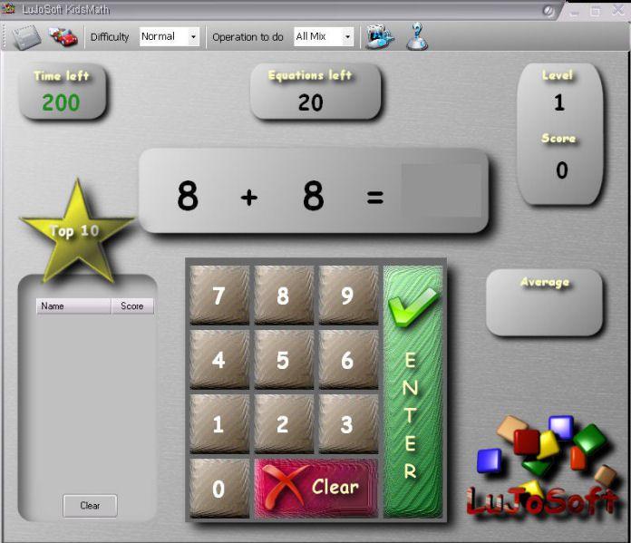 Vorschau LuJoSoft KidsMath - Bild 1
