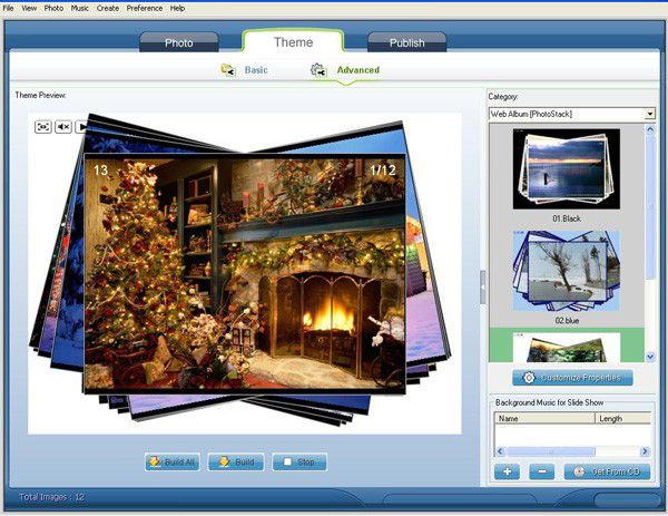 Vorschau Web Flash Slideshow Maker - Bild 1