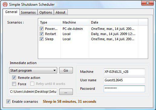 Vorschau Simple Shutdown Scheduler - Bild 1