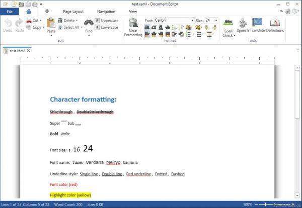 Vorschau Document Editor - Bild 1