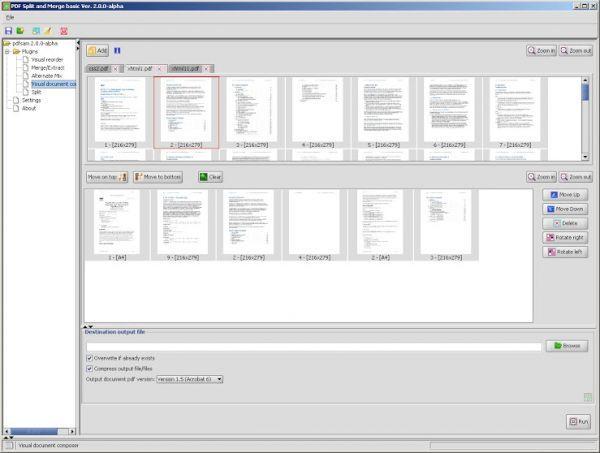 pdf split and merge software