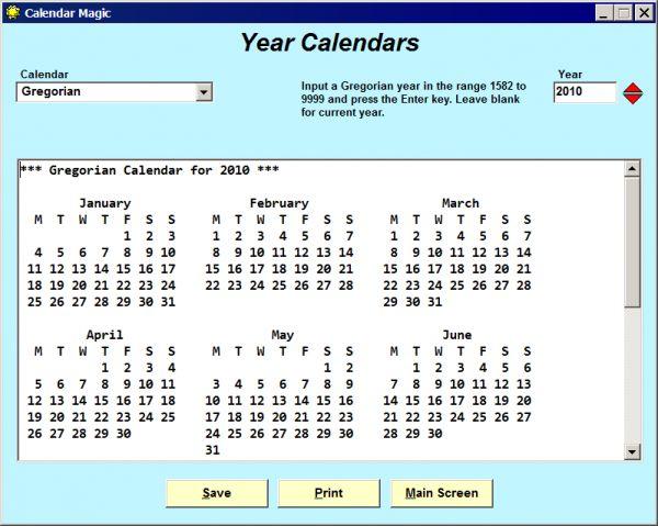 Vorschau Calendar Magic - Bild 1