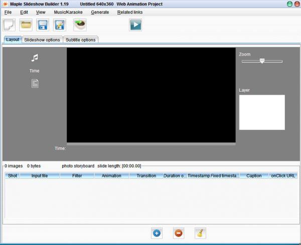 Vorschau Maple Java Slideshow Builder - Bild 1