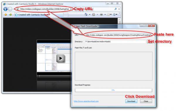 Vorschau Gear Flash Downloader - Bild 1