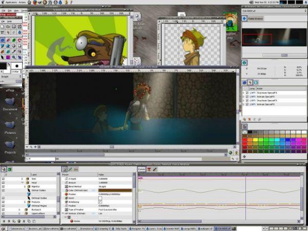 Vorschau Synfig Animation Studio - Bild 1
