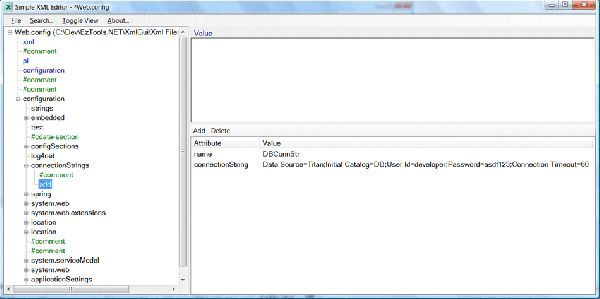 Vorschau Simple XML Editor - Bild 1