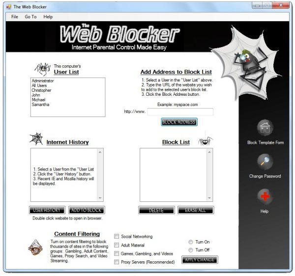 Vorschau The Web Blocker - Bild 1