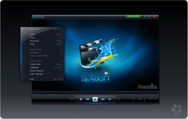 Vorschau Splash Lite - HD Video Player - Bild 1