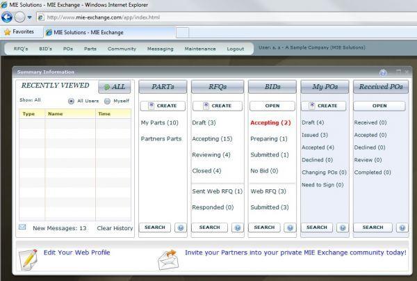 Vorschau MIE Exchange B2B Portal Software - Bild 1