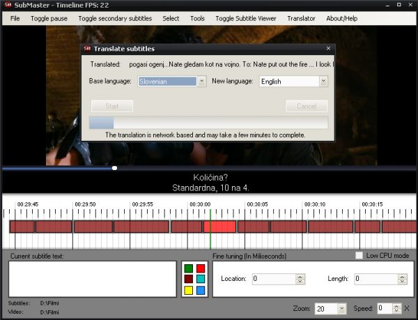 Vorschau Kijio Subtitle Editor - Bild 1