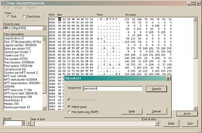 Vorschau Disk Investigator - Bild 1