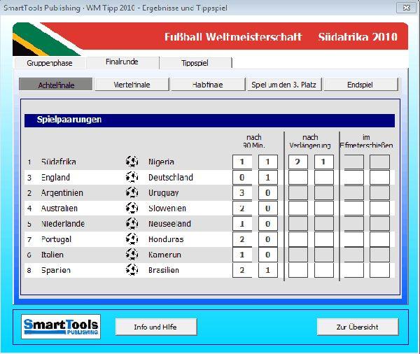Vorschau SmartTools WM-Tipp 2010 für Excel - Bild 1