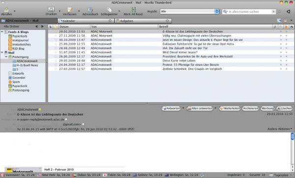 Vorschau Mozilla Thunderbird - Bild 1