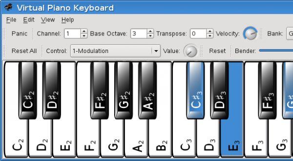 Vorschau Virtual Midi Piano Keyboard - Bild 1
