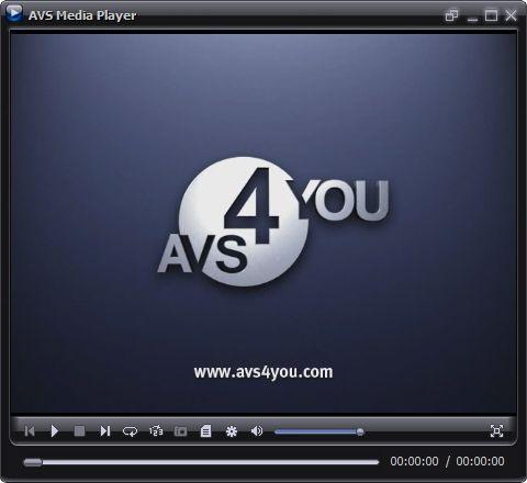 Vorschau AVS Media Player - Bild 1