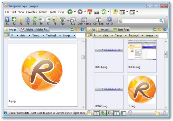 Vorschau Risingware File Manager - Bild 1