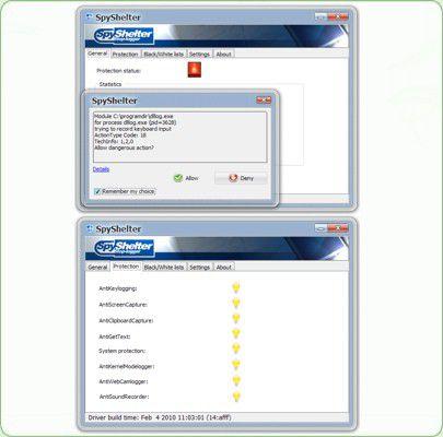 Vorschau SpyShelter Personal Free - Bild 1