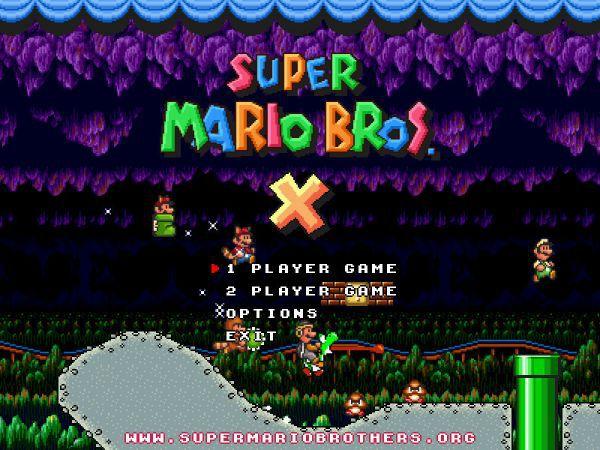 Vorschau Super Mario Bros. X - Bild 1