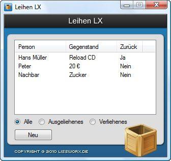 Vorschau Leihen LX - Bild 1