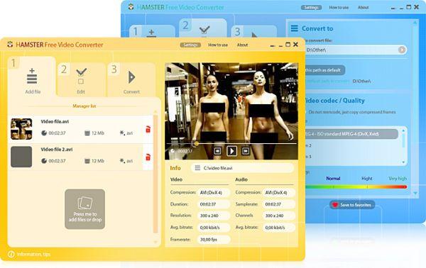 Vorschau Hamster Free Video Converter - Bild 1