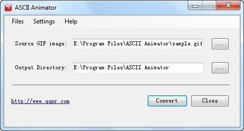 Vorschau ASCII Animator - Bild 1