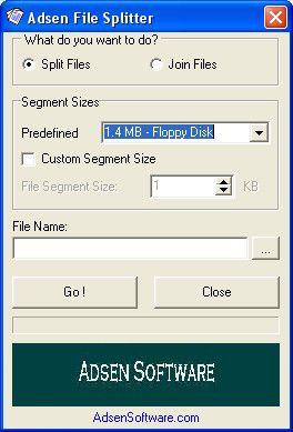 Vorschau Adsen File Splitter - Bild 1