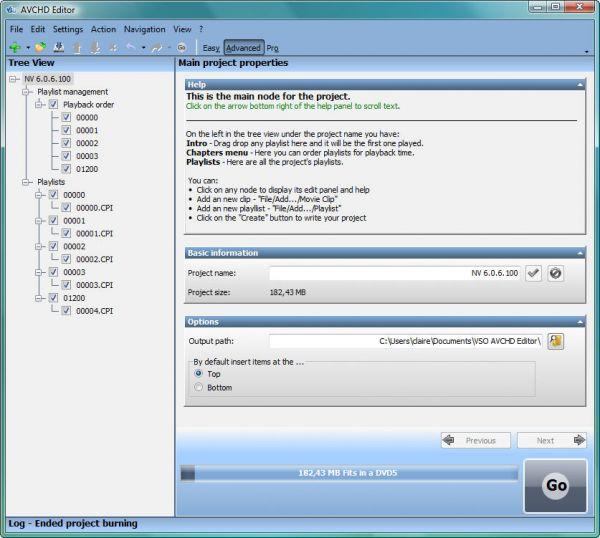 Vorschau Free AVCHD Editor - Bild 1