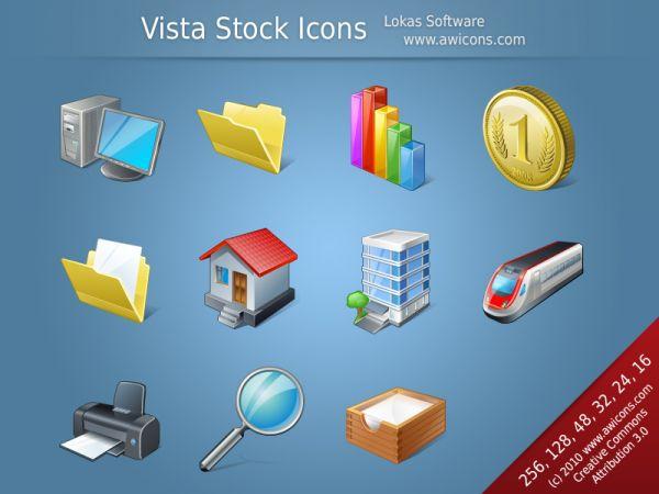 Vorschau Vista Stock Icons - Bild 1