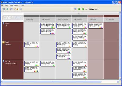Vorschau CodeTwo NetCalendars - Bild 1