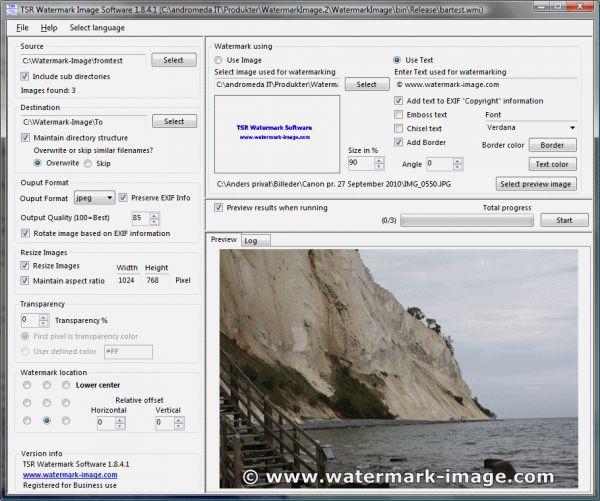 Vorschau TSR Watermark Image Software - Bild 1