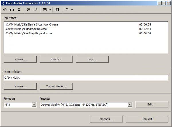 Vorschau Free Audio Converter - Bild 1