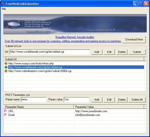 Vorschau FreeWebLinkSubmitter - Bild 1